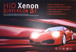 75W Xenon 12-24V H4 Hi/Low 6000K Kit